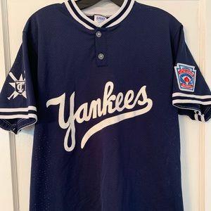 Vintage Yankees Script Jersey Sz M
